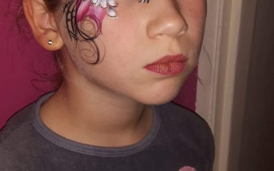 Cherry Drop Face Painting and Body Art 2