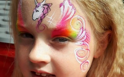 Cherry Drop Face Painting and Body Art 1