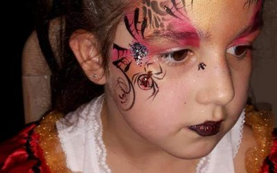 Cherry Drop Face Painting and Body Art 8