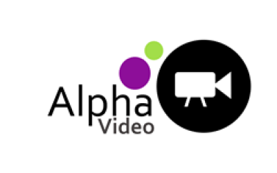 Alpha Video business logo