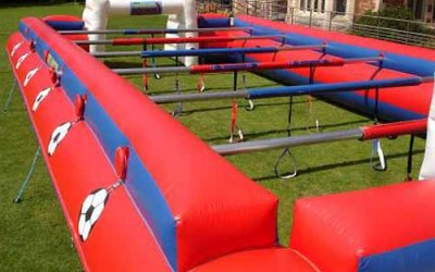 Cromore Castles - Human Table football