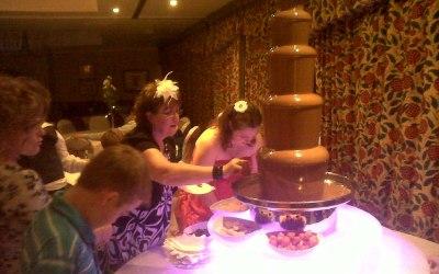 Fantasy Events Chocolate Fountain Hire 3