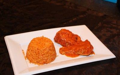 Tasty African cuisine
