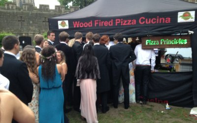 Pizza Principles Summer Ball Catering