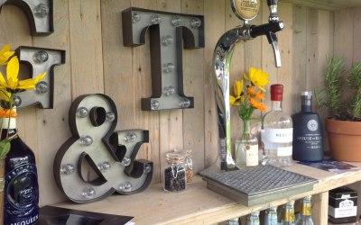 Gin & Prosecco van in Angus, Scotland