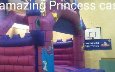 princess castle bouncy castle