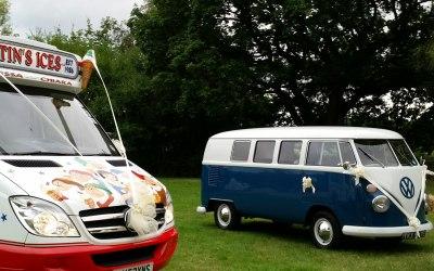 ice cream van hire for weddings