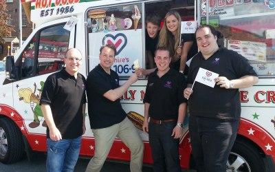 Corporate ice cream van hire