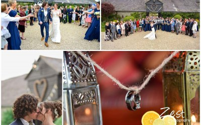 fun, welaxed wedding at Upwaltham Barns