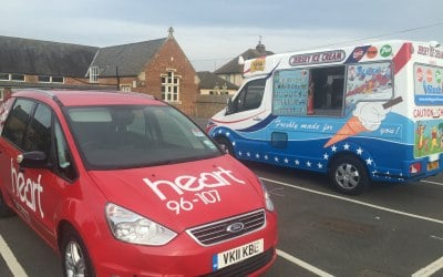 heart fm treat listeners to free ice creams