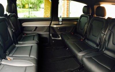 Inside Mercedes V Class