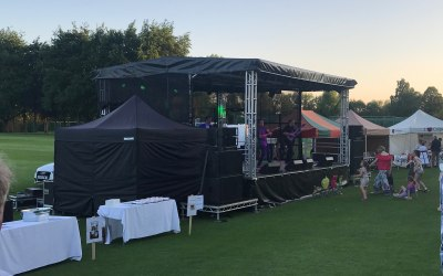 Stage Hire, Midlands, Festival Stage, Concert Stage, Event Production