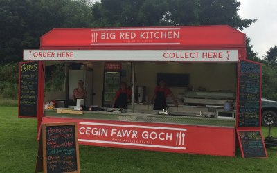 Big Red Kitchen at Castell Beat 2016