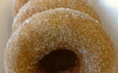 Hot Fresh Sugared Donuts