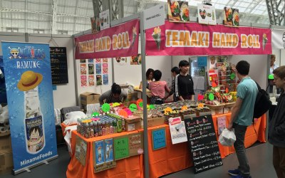 Temaki Hand Roll Sushi Booth at Hyper Japan