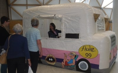 mobile ice cream van
