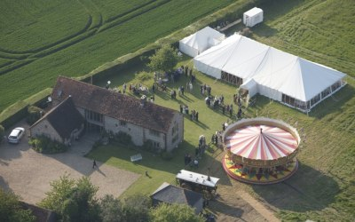 Traditional wedding Lewis Marquees