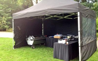 Country Hog Roast - Professional Gazebo Set-up