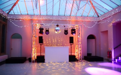 Lighting and sound equipment hire