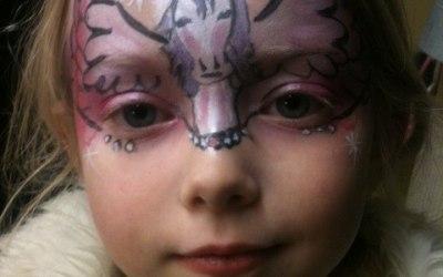Pegasus face paint