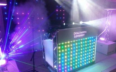 Personalised Nightclub feel for DJ booth