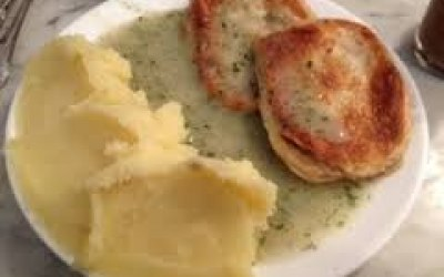 London Pie and Mash with Liquor