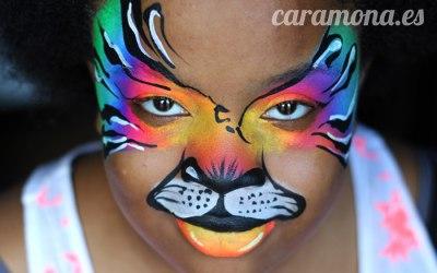 Monkey Face Facepaint  1