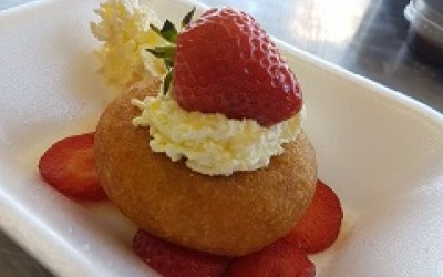 Our Strawberry Dessert Donut