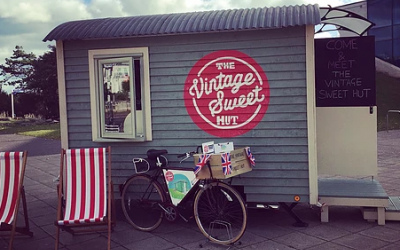 The Vintage Sweet Hut Sweets And Candy Carts Camden
