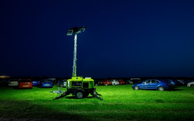 Fortis Hire - Tower Light