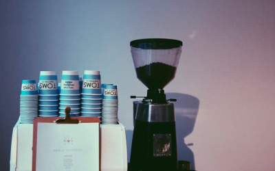 Event coffee bar installed for espresso service