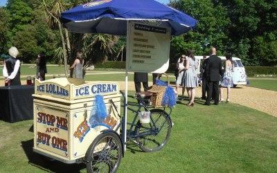hire ice cream bicycle