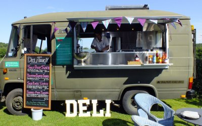 Outside catering, the Deli Truck,