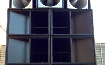 Large scale music system