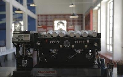 Espresso machine event setup