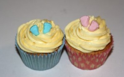 Boy Or Girl? Cupcakes for Baby shower