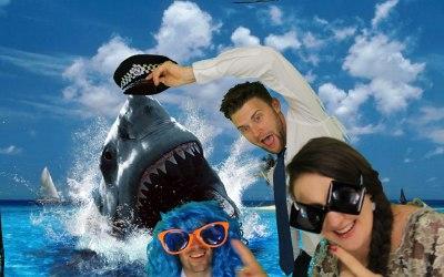 Shark fun in Pixinapod