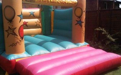 Monkey Business Bouncy Castle Hire 1