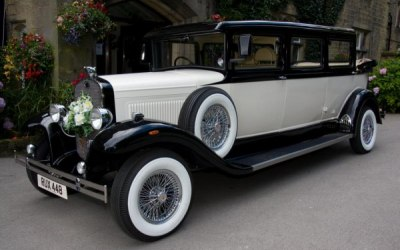 Vintage Bramwith 7 Seater Wedding Car