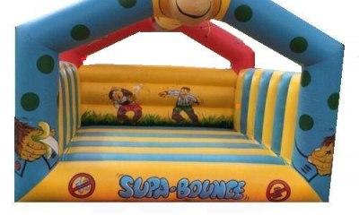 cheeky monkey bouncy castle