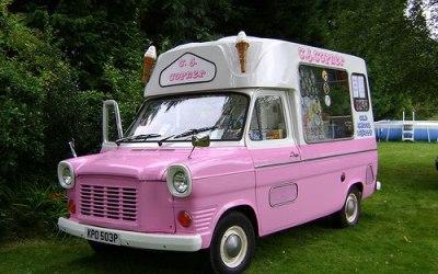 CJ Copner Ice Cream Vans
