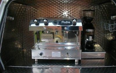 coffee van north wales
