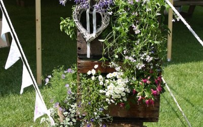 Floral crate display
