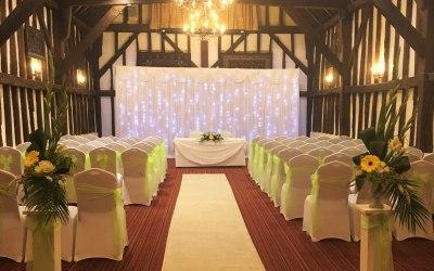 Civil ceremony dressing