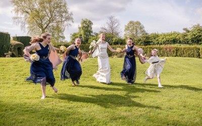 GCG Photography - Bridal Party Run