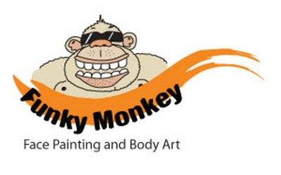 Funky Monkey Face Painting & Body Art 1
