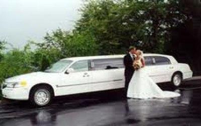 American 8 Seater Wedding Limousine