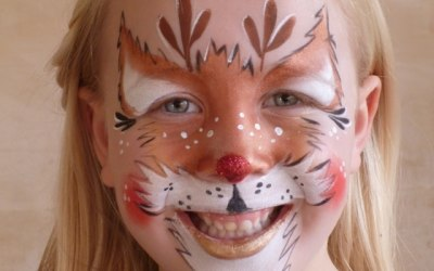 Funky Monkey Face Painting & Body Art 9