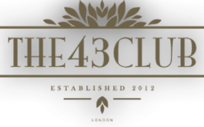 The 43 Club Logo