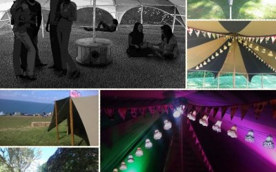 Range of tent structures